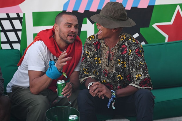 Jesse Williams Heineken House