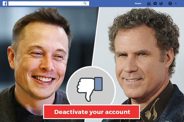 Delete Facebook Will Ferrell Update