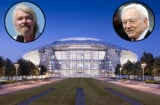 Jerry Jones, Richard Branson, AT+T Stadium