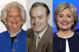 Barbara Bush Bob Hope Hillary Clinton
