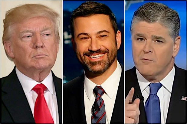 Donald Trump Jimmy Kimmel Sean Hannity