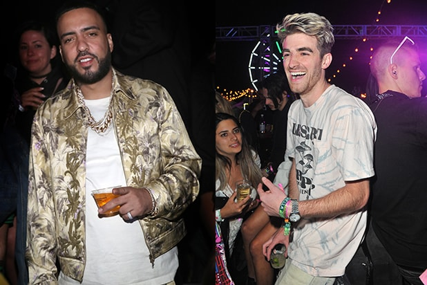 French Montana, Drew Taggart Chainsmokers