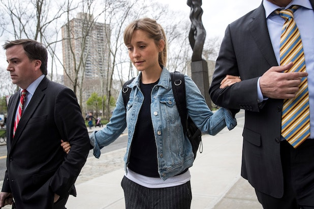 Allison Mack house arrest sex cult