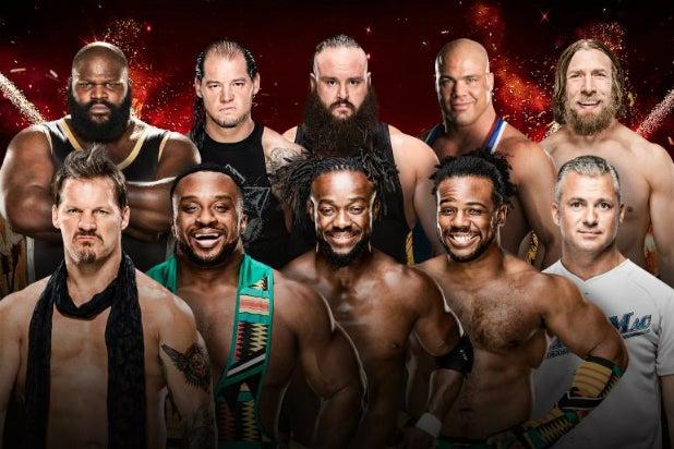 WWE Greatest Royal Rumble Match