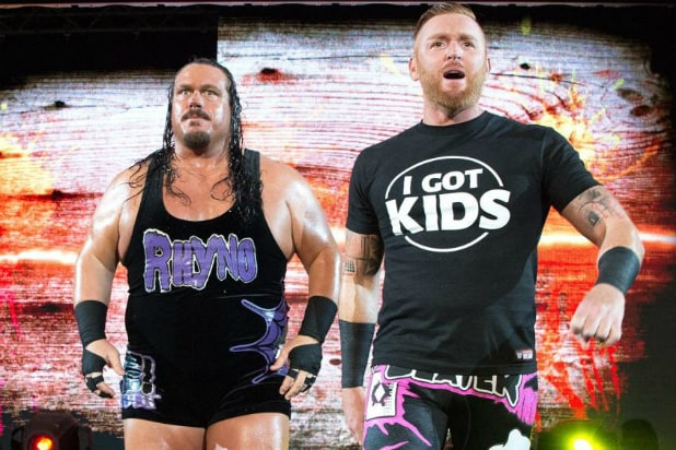 Heath Slater and Rhyno - WWE