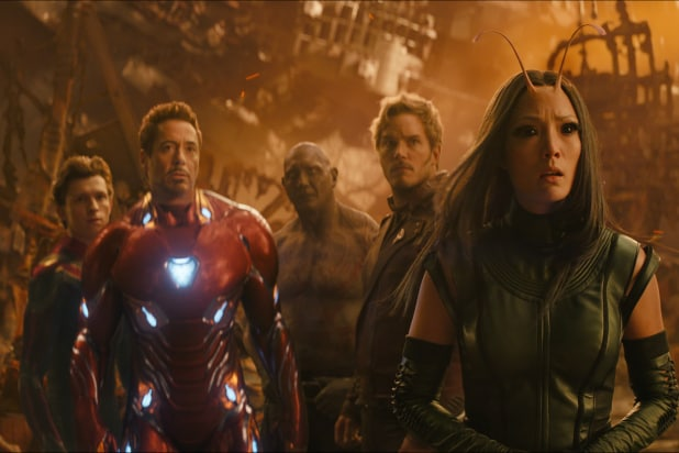 'Avengers: Infinity War' Post-Credits Scene Explained: What Logo Was That  on the Pager?