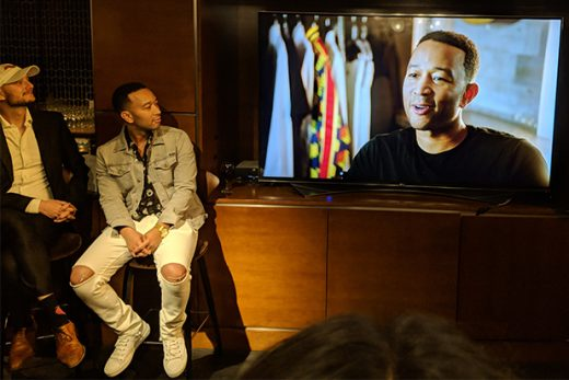 JOHN LEGEND watching John Legend A Good Night Single - Mikey Glazer
