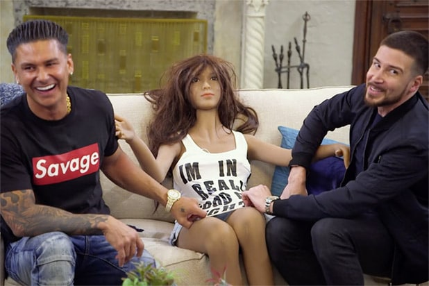 Snooki Talks 'Creepy' Sammi Doll From 'Jersey Shore Family