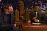 Jon Hamm and Jimmy Fallon