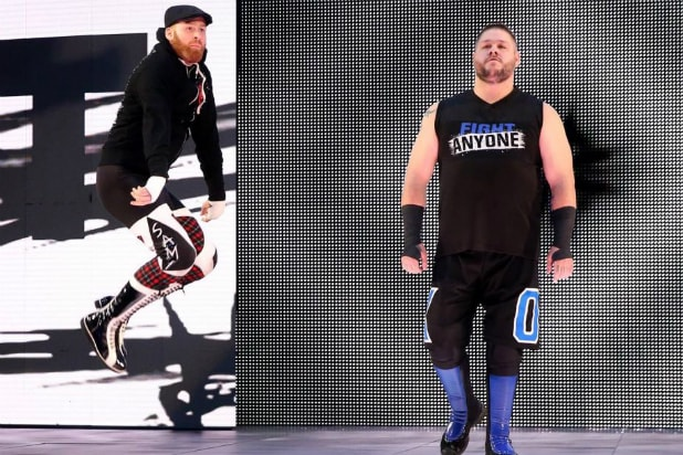 Kevin Owens and Sami Zayn - WWE