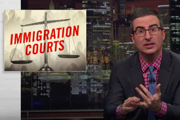 John Oliver Deports Our Disastrous Immigration Court System (Video)