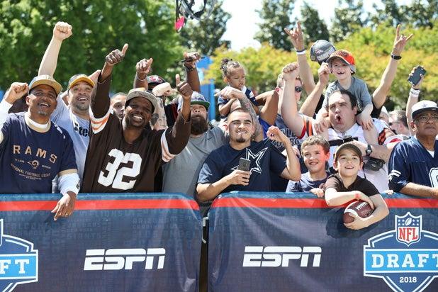 NFL Draft 2018 Fans