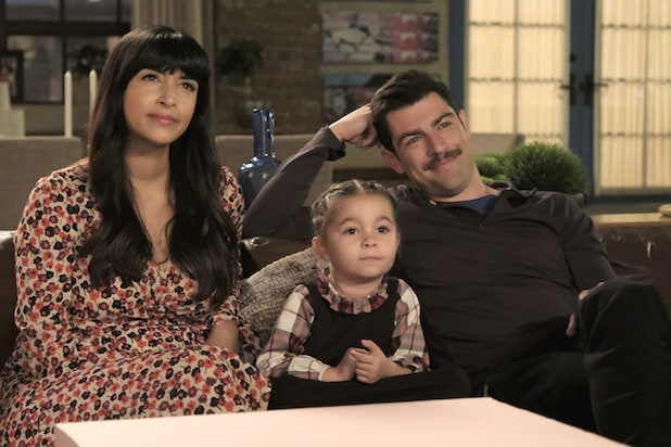 New Girl Hannah Simone Max Greenfield