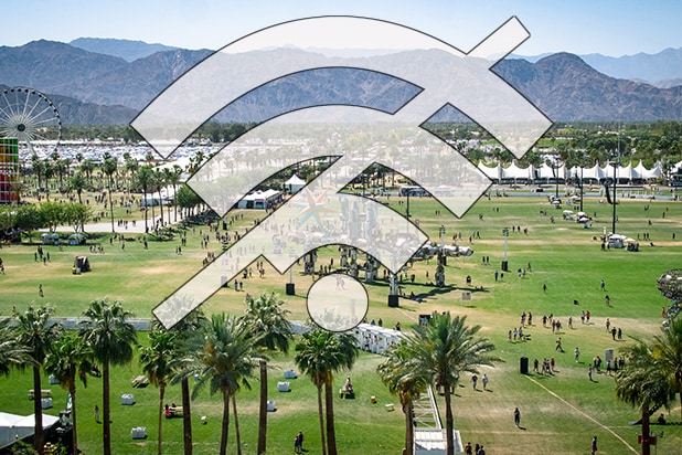 No Wifi at Coachella Symbol