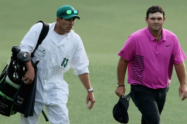 Patrick Reed at The Masters