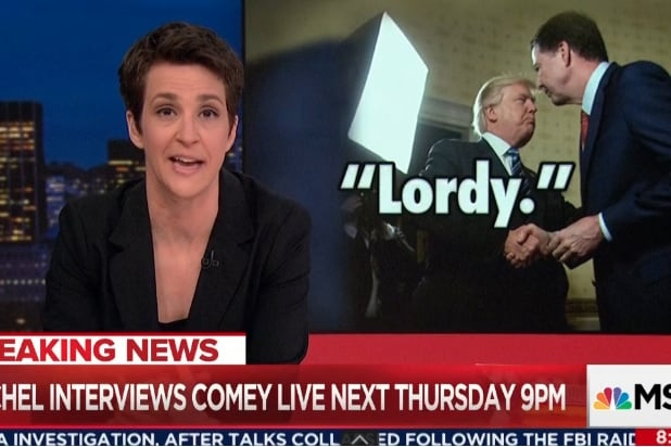 Rachel Maddow on Comey