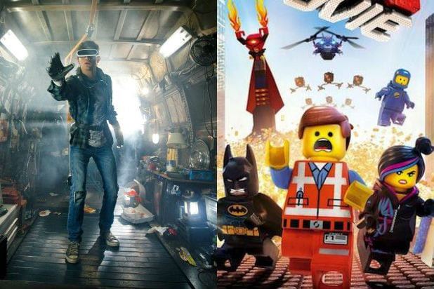 How 'The LEGO Movie' Was 'Ready Player One' First, and Better ...