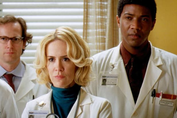 Sarah Paulson in Grey's Anatomy