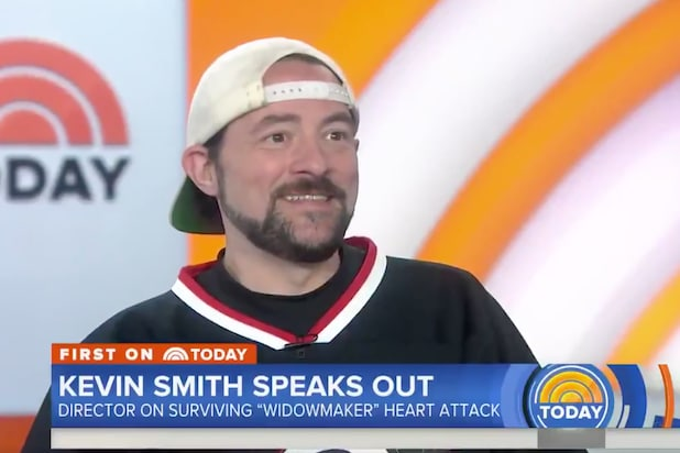 Kevin Smith Today Show Heart Attack