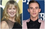 Tonya Harding and Adam Rippon
