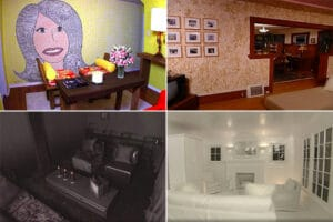 13 Worst 'Trading Spaces' Designs, From the Sob-Inducing Fireplace to Straw-Covered Walls (Photos)