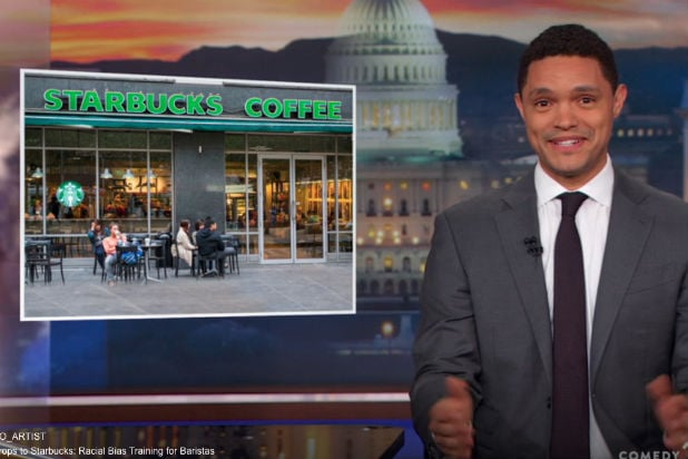 Trevor Noah Jokes That Black People Should 'See How Far We Can Push Starbucks' (Video)