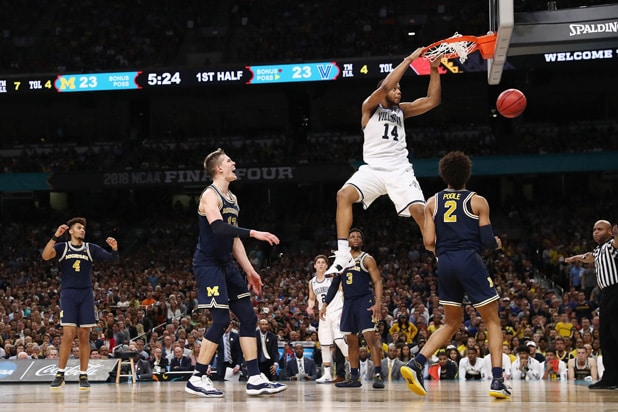 Michigan v Villanova NCAA