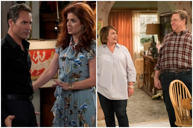 Will and Grace Roseanne