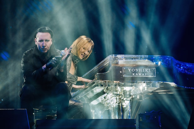 Marilyn Manson Yoshiki X Japan Coachella 2018
