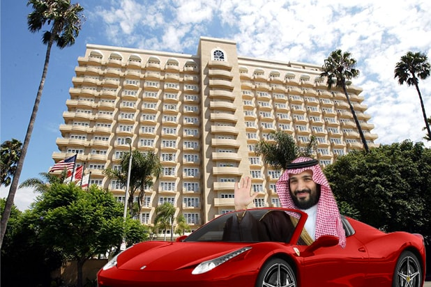 94df01428c Saudi Crown Prince Mohammed-bin-Salman Buys Out Beverly Hills Four ...