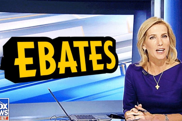 Laura Ingraham and Ebates