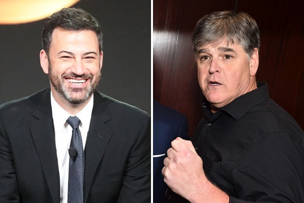 jimmy kimmel sean hannity