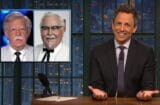 late night with seth meyers donald trump john bolton colonel sanders