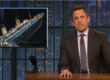 late night with seth meyers donald trump titanic