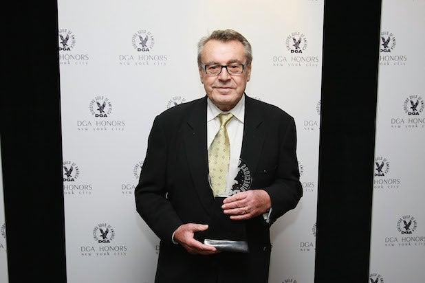 Director Milos Forman