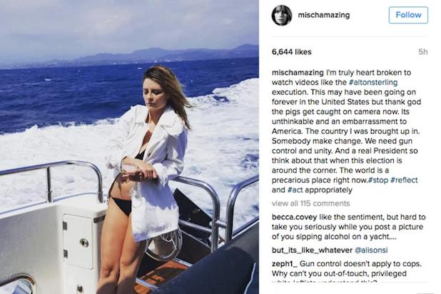 Mischa Barton Instagram