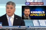 sean hannity invites jimmy kimmel with threats