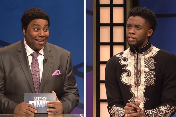 'SNL': Black Panther Figures Out White People and Learns About Police Violence on 'Black Jeopardy' (Video)