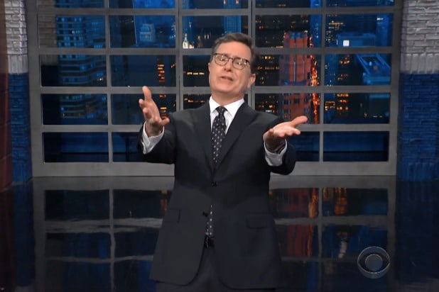 39c0db5ab Stephen Colbert Offers Michael Cohen Some Advice: 'I'm Sure the FBI Will  Keep This Whole Thing Quiet for $130,000' (Video)