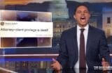 the daily show with trevor noah donald trump attorney client privilege