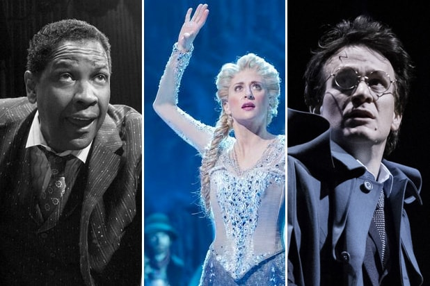 tony awards predictions iceman cometh denzel frozen harry potter cursed child