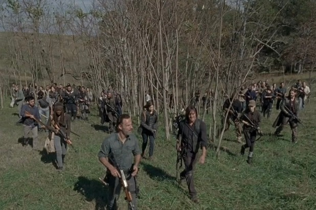 walking dead negan trap rick finale season 8