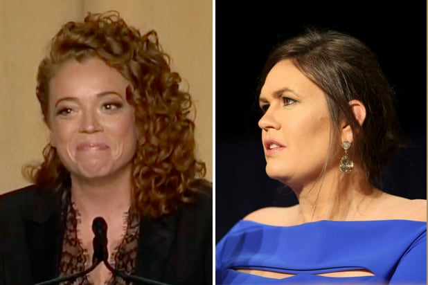 michelle wolf sarah huckabee sanders white house correspondents dinner