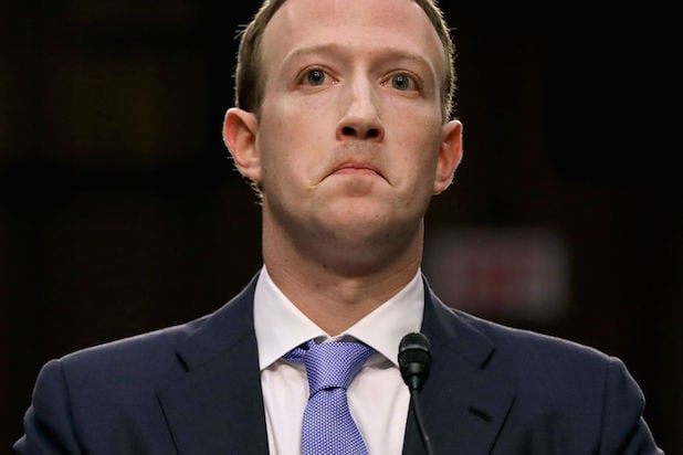 Zuckerberg Congress