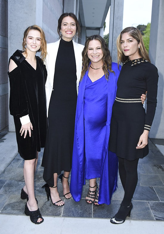 Zoey Deutch, Mandy Moore, Ashlee Margolis and Selma Blair - Vivien Killilea:Getty Images for Communities in Schools of Los Angeles.jpg
