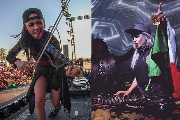EDC Female DJs Mariana Bo Jessica Audiffred