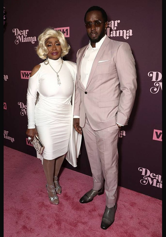 Diddy and His Mom Janice