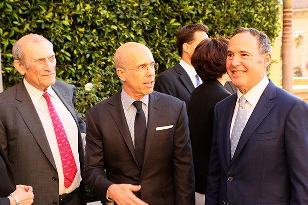 Ken Ziffren, Jeffrey Katzenberg, Cliff Gifford-Lurie