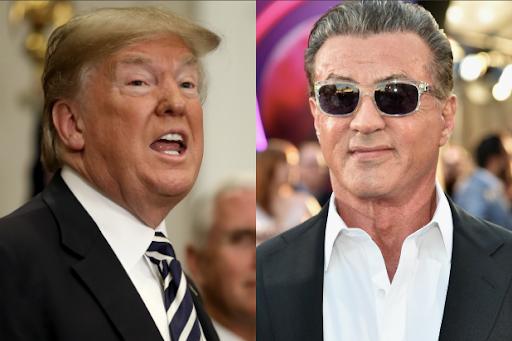 Trump Sylvester Stallone