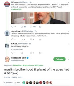 roseanne valerie jarrett twitter